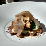 Onglet (Rindfleisch/Nierenzapfen) geräuchert Pilzpapier Steinpilze BBQ