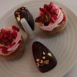 Himbeer Haselnuss Schokolade Karamell